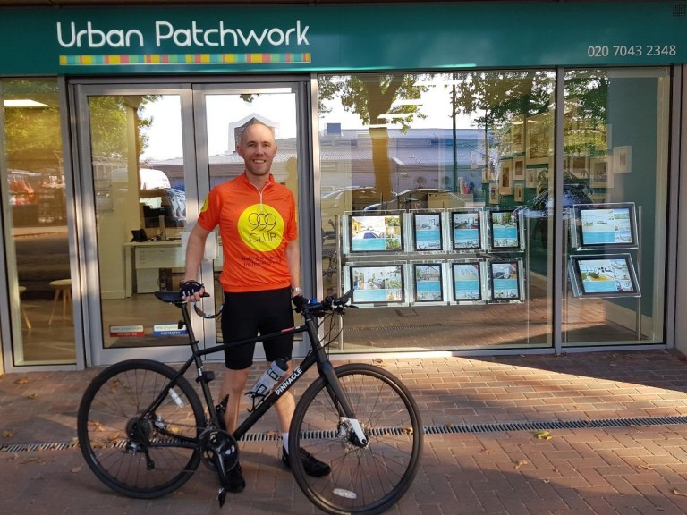 100-mile Cycle for 999 Club